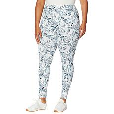 Shadow Sport High-Waist Watercolor Floral Print Legging