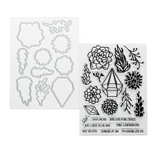 Sharon Callis Sensational Succulents Stamp and Die Set