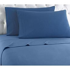 Shavel Home Micro Flannel Solid Color Sheet Set - King