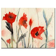 "Sheila Golden 'Poppies' Giclee Print - 18"" x 24"""