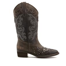 Sheryl Crow Marfa Leather Western Boot
