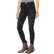 Sheryl Crow Star Embroidered Denim Jean