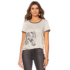 Sheryl Crow Vintage Graphic Ringer Tee