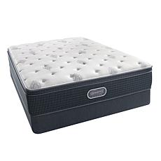 Simmons BeautyRest® Silver Adda Luxury Euro Top Mattress Set - Full