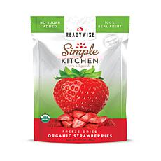 Simple Kitchen Organic Freeze-Dried Strawberries 6-Pack