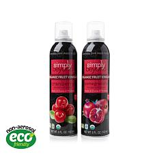 Simply Beyond Spray-On Fruit Vinegars® 2-pack