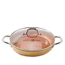 "Simply Ming Ceramic Nonstick 11"" Buffet Pan"