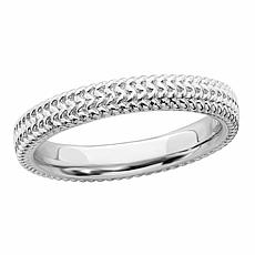 Simply Stacks™ Sterling Silver Stackable Zigzag Ring