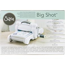 Sizzix Big Shot Machine - White and Gray