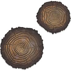 Sizzix Bigz Die with Texture Fades By Tim Holtz - Mini Tree Rings