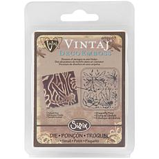 Sizzix DecoEmboss Embossing Folder - Dragonfly Pond