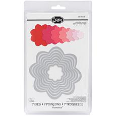 Sizzix Framelits Die Set 7-piece - Flowers