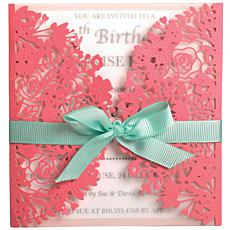 Sizzix Thinlits Dies By Olivia Rose 2-pack - Floral Edges