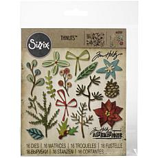 Sizzix Thinlits Dies By Tim Holtz 18-pack - Funky Festive