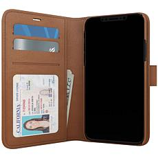 Skech Polo Book Case and Wallet for iPhone 11 Pro in Brown