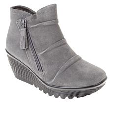 Skechers Parallel Triple Threat Suede Bootie