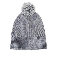 Skinngirl Marled Knit Pompom Hat