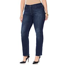 Skinnygirl 5-Pocket Straight-Leg Jean
