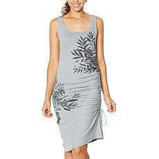 Skinnygirl Connie Side Ruched Midi Tank Dress