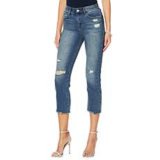 Skinnygirl High-Rise Straight Cropped Jean - Westerloo