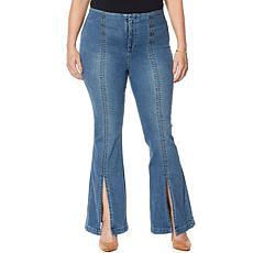 Skinnygirl Maty High-Rise Flare Jean