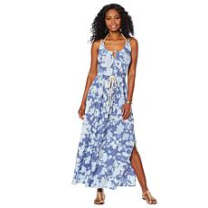 Skinnygirl Printed Maxi Dress