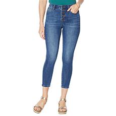Skinnygirl Risk Taker High-Rise Skinny Crop Jean