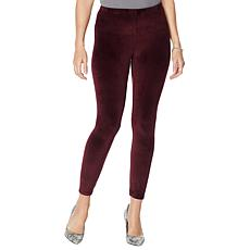 Skinnygirl Seamless Pull-On Velour Pant