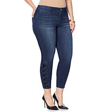 Skinnygirl Skinny Ankle Jean with Lacing