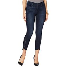 Skinnygirl Skinny Ankle Jean with Metal Trim