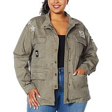 Skinnygirl Sustained Anorak Jacket