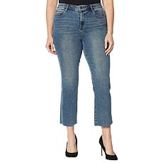 Skinnygirl Warren High-Rise Straight Ankle Jean