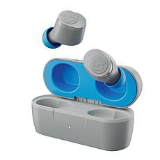 Skullcandy Jib True Wireless In-Ear Earbuds w/Microphones (Gray Blue)