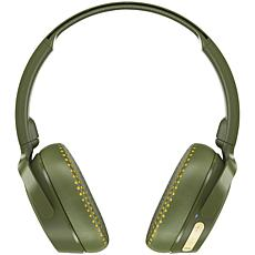 Skullcandy Riff Bluetooth On-Ear Headphones with Microphone - Olive