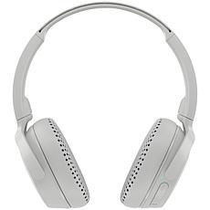 Skullcandy  Riff Wireless On-Ear Headphones w/Microphone- Gray/Crimson