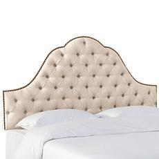 Skyline Furniture Nail Button Arch Headboard-Queen