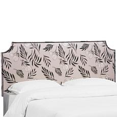 Skyline Furniture Notched Nail Button Headboard - Queen