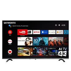 "Skyworth Q20300 50"" 4K UHD LED HDR Smart TV with Google Assistant"