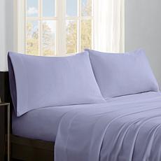 Sleep Philosophy Micro Fleece Sheet Set - Lavender - Full