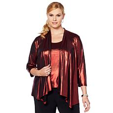 Slinky® Brand 2pc Foil Jacket and Tank Set