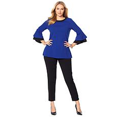 Slinky® Brand 2pk Long-Sleeve Colorblock Tunic and Pant Set
