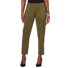Slinky® Brand French Terry Cargo Pant with Pockets