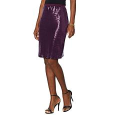 Slinky® Brand Sequin Pencil Skirt