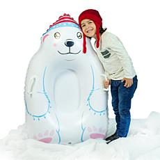 SnowCandy Polar Bear Snow Sled