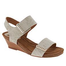 Sofft Verdi Leather Wedge Sandal