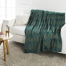 Soft & Cozy Foil Printed Plush Blanket