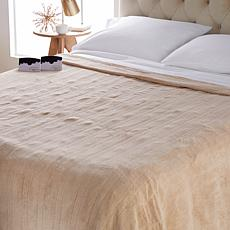 Soft & Cozy Heated Plush Blanket - Queen