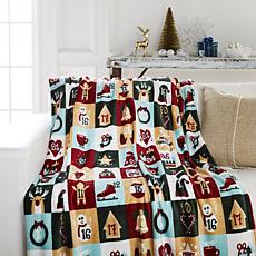 Soft & Cozy Plush Holiday Printed Blanket