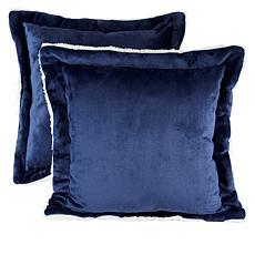 Soft & Cozy Set of 2 Decorative Pillows