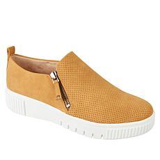 SOUL Naturalizer Turner Side-Zip Slip-On Platform Sneaker